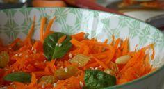 Salade de carottes râpées a l'orange | Le Blog cuisine de Samar