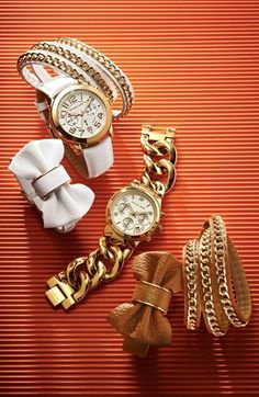 those bow bracelets. a must. #michaelkors