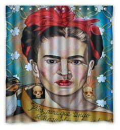 Frida shower curtain