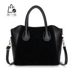 $7.13 (Buy here: https://alitems.com/g/1e8d114494ebda23ff8b16525dc3e8/?i=5&ulp=https%3A%2F%2Fwww.aliexpress.com%2Fitem%2FHOT-Fashion-bags-2015-women-s-nubuck-leather-patchwork-handbag-smiley-bag-women-shoulder-bag-women%2F32329573728.html ) LINLANYA  HOT! Fashion bags 2016 women's nubuck leather patchwork handbag smiley bag women shoulder bag women's bags for just $7.13