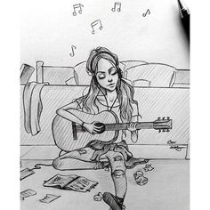 draw and music kép