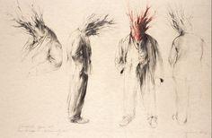 Tree Men - Hansel & Gretel. John Macfarlane Stage, Gallery, Drawings, Men, Animals, Theater, Roof Rack, Animaux, Animal