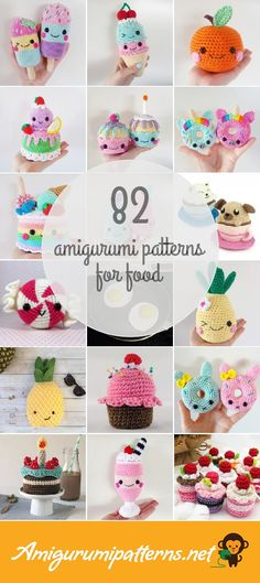 82 Food Amigurumi Patterns