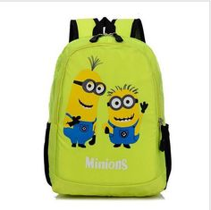 Minion Despicable Me School Backpack Character Bags Toddler Bag Kids  Fashion Hot Sale For Teenagers Children Back To School EWX 9c6c04477d6b3