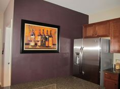 Looking for a paint color for my kitchen as an accent wall with a ...