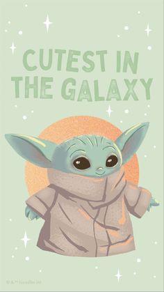 Cartoon Wallpaper Iphone, Star Wars Wallpaper, Cute Disney Wallpaper, Cute Cartoon Wallpapers, Yoda Pictures, Yoda Images, Star Wars Pictures, Cute Disney Drawings, Cute Cartoon Drawings