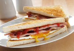 ... on Pinterest | Fruit kebabs, Sweet treats and Bacon and egg sandwich