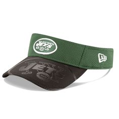 New York Jets New Era Sideline Official Visor - Green - $23.99