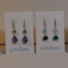 Fancy silver cut glass earrings by JeRuBijoux on Etsy Glass Earrings, Pearl Earrings, Drop Earrings, Cut Glass, Ottawa, Canada, Fancy, Pearls, Silver