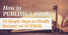 Do you have a book in you waiting to come out? If so, discover some of the simple steps you can use to become an author http://www.developgoodhabits.com/become-an-author/