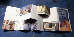 Making Handmade Books: A Simple Pop-Up Accordion Card