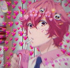 Cute Anime Boy, Anime Love, Anime Guys, Manga Anime, Face Pictures, Cartoon Profile Pictures, Otaku, Pink Aesthetic, Aesthetic Anime