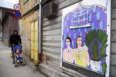 Artist: Kairo | Community Post: 21 Awesome Street Art Pieces From Tartu, Estonia!?