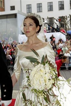 Princess Mary of Denmark wedding. beautiful!