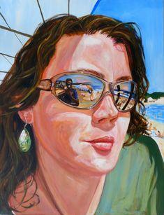 Стефани Македо (Stephane Macedo) талантливая художница из Франции. Пишет в реалистичной манере