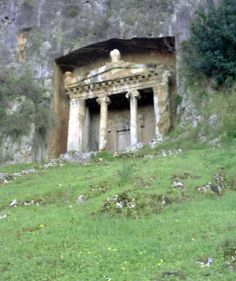 Fethiye, Turkey | ... to the ancient rock tombs carved into the cliffs above the city