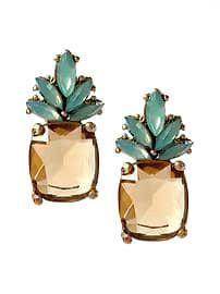 Pineapple Stud Earrings  https://www.lulugem.com/collections/pineapples/products/pineapple-stud-earrings?variant=40065909123