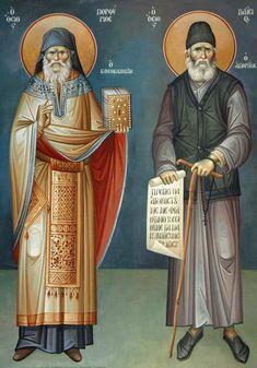Art Patterns, Pattern Art, Paint Icon, Byzantine Art, Orthodox Icons, Ancient Art, Saints, Angels, Painting