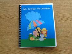 Speech Universe: Umbrellas in the Speech Room!  FREEBIE!