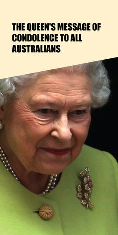 The Queen's message of condolence to all Australians - Taste Every Season Condolence Messages, Condolences, Kate Middleton News, Meghan Markle News, Christmas Presents For Her, Her Majesty The Queen, Prince Philip, Queen Elizabeth, Shopping