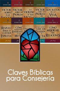 Las 100 Claves Bíblicas para Consejería, coleccionadas en estos libros, le ayudan encontrar las verdades de Dios para los problemas de hoy...en forma muy conveniente.