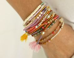 Nona Designs Etsy listing at https://www.etsy.com/listing/205449094/beaded-wrap-bracelet-with-or-without