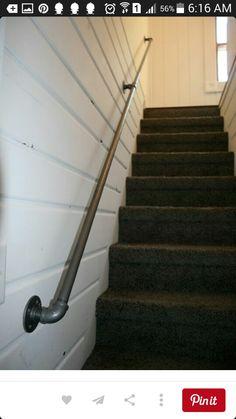 Stairway rail