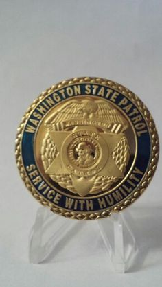 Washington state police challenge coin