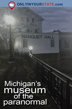 History buffs and ghost hunters will have the adventure of a lifetime at this haunted museum in Michigan. Are you ready to see some paranormal activity? Vacation Places, Vacation Spots, Places To Travel, Places To Go, Travel Destinations, Greece Vacation, Dream Vacations, Scary Ghost Pictures, Ghost Photos