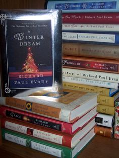 Richard Paul Evans collection...best author I've ever read. If you like Nicholas Sparks, you'll love these books as well!