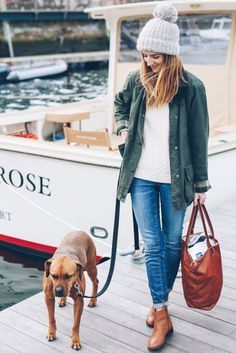 On the Docks: Barbour Jacket & Ankle Boots - Prosecco & Plaid – A Rhode…