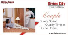 All modern amenities and easy access to every corner of the home team up together to provide the perfect fit atmosphere for couple as they can enjoy the best of privacy. So, buy the dream home with #divinegroup as soon as possible. http://www.divinegoc.com/