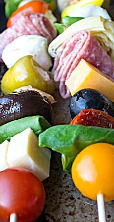 Antipasto Skewers