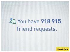 Wonderbra - Friend requests