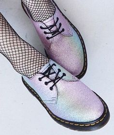 Dr. Martens Women's 1461 Gltr Oxford - #pastelgoth #alternative #drmartens #shoes