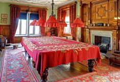 The Billiards Room, Lanhydrock House by Baz Richardson, via Flickr