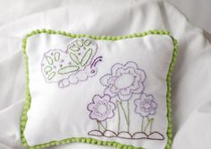 Embroidery Patterns Hand Embroidery Butterfly by KimberlyOuimet