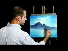 The Art of Nicholas Hankins - Painting Mountains
