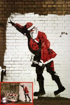banksy S. Clause