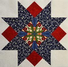 Chock-A-Block Quilt Blocks: Squares & Triangles Block