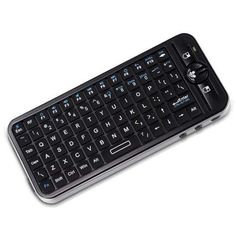 iPazzPort KP-810-16A Mini Wireless QWERTY Keyboard Air Mouse TV Remote  | eBay