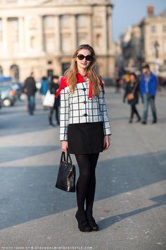 that jacket is soo interesting. well played girl. Josefine in Paris.