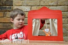 Cereal Box Theatre Puppet show