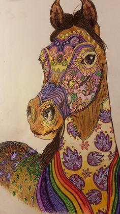 Amazon.com: The Magical World Of Horses: Adult Coloring Book (Volume 2) (9781530964253): Cindy Elsharouni, Tamer Elsharouni: Books