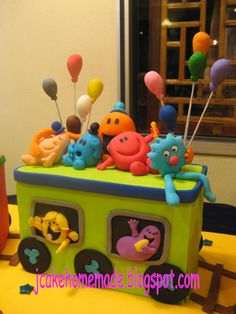 mr. men cake - Google Search