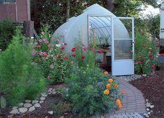 Welcome to a Solar Gem Greenhouse http://solargemgreenhouses.com/