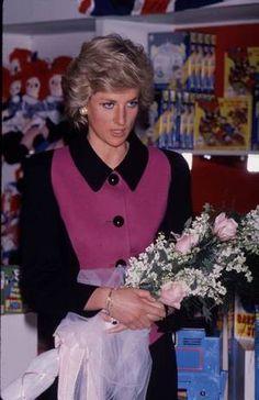 Princess Diana visite  New York / Suite