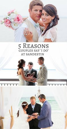 Looking for the perfect location for a destination or beach wedding? With 10 stunning venues, Sandestin Golf and Beach Resort is the perfect place for your perfect day!
