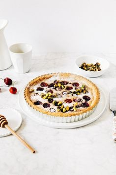 cherry frangipane tart | hummingbird high || a desserts and baking blog