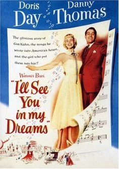 I'll See You in My Dreams (1951) Directed by #MichaelCurtiz Starring #DorisDay #DannyThomas #FrankLovejoy #PatriceWymore #JamesGleason #IllSeeYouinMyDreams #Hollywood #hollywood #picture #video #film #movie #cinema #epic #story #cine #films #theater #filming #movies #moviemaking #movieposter #movielover #movieworld #movielovers #movienews #movieclips #moviemakers #drama #filmmaking #cinematography #filmmaker #screen #screenplay Warner Brothers, Warner Bros, Danny Thomas, Best Screenplay, Long Time Friends, Drama Film, Character Names, See You, The Girl Who
